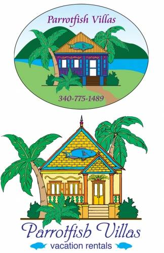 Parrotfish Villas - logo ideas