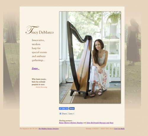 Tracy Demarco harpist